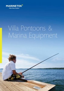 villa pontoons brochure marina equipment